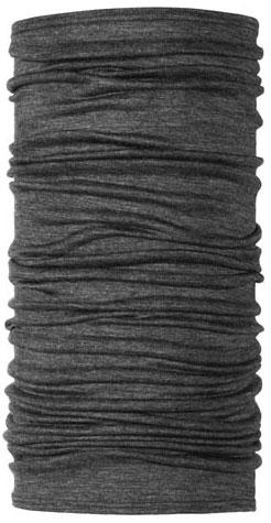 [ Buff ] 健行/滑雪/出國/旅遊 西班牙 魔術頭巾 素色美麗諾羊毛 WOOL BUFF 100202 霧面灰黑