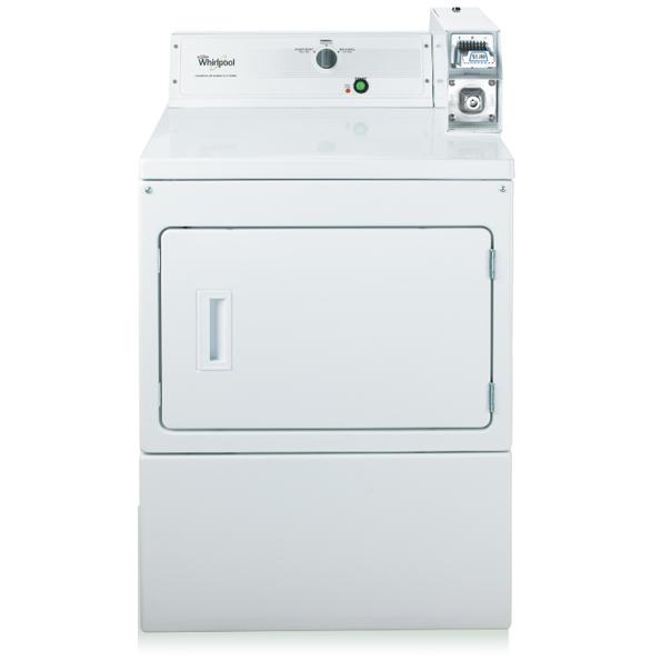 Whirlpool 惠而浦 CEM2763BQ烘乾機 (220V.3 線) 白投幣式美製 12kg 乾衣機