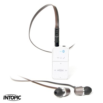INTOPIC廣鼎 SP-HM-BT001 (白色) 藍芽3.0音控盒