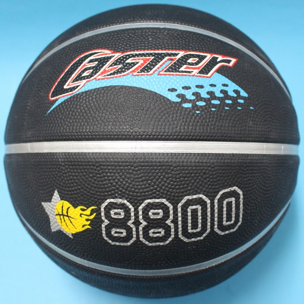 CASTER深溝籃球 黑色深溝籃球 標準7號籃球/一個入{促280}