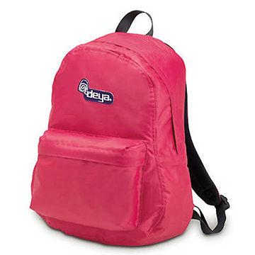 後背包 / deya-經典系列 經典後背包--玫瑰紅-男女學生潮包旅遊包 C1509