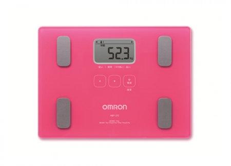 OMRON歐姆龍體脂肪計HBF-212(桃紅色)