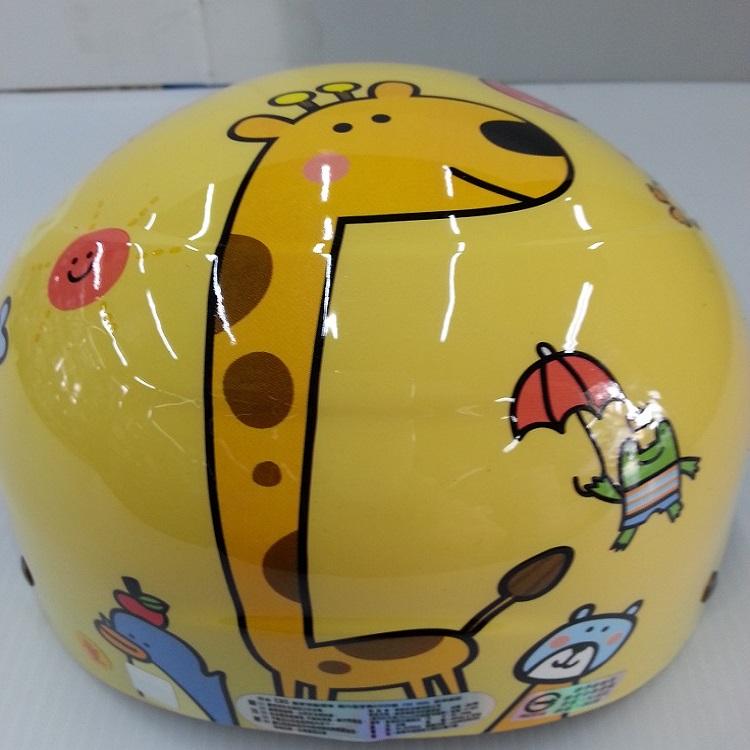 *小騎士* 長頸鹿動物園安全帽   兒童安全帽