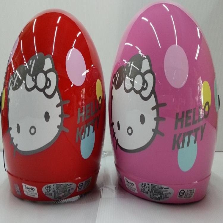 *小騎士*Hello  kitty3/4安全帽附鏡片  兒童安全帽