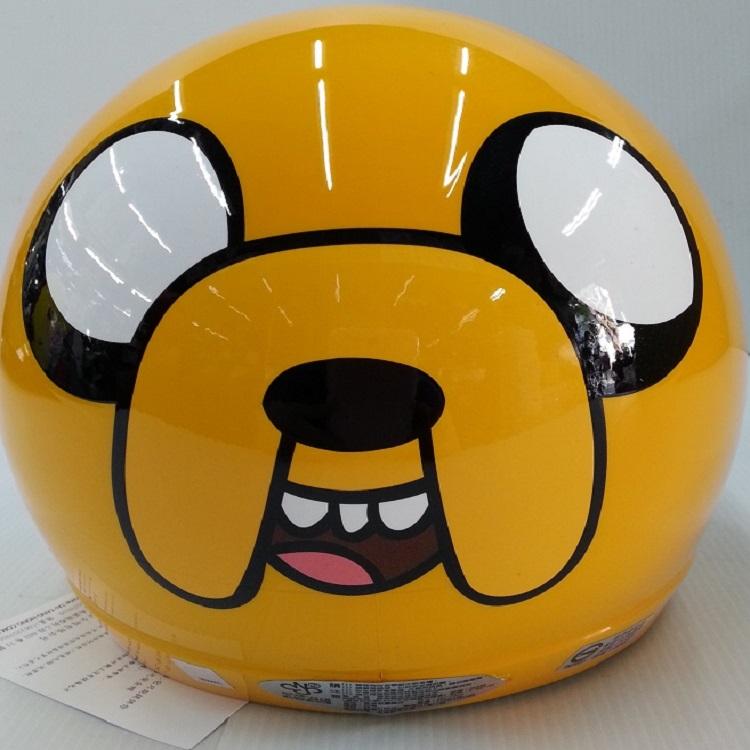 *小騎士*活寶探險(老皮)3/4安全帽附鏡片  兒童安全帽