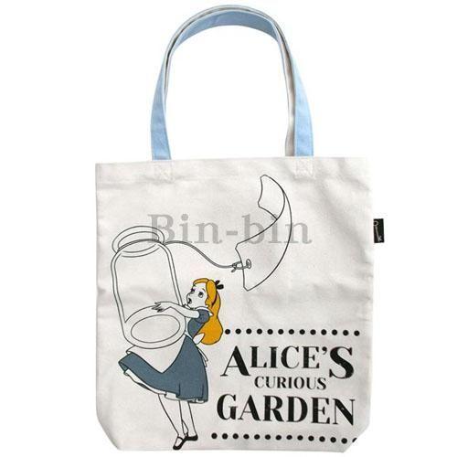 迪士尼 愛麗絲A4尺寸手提袋/747-775