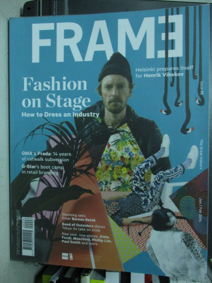 【書寶二手書T4/設計_PNK】FRAME_96期_Fashion on stage_2015/1