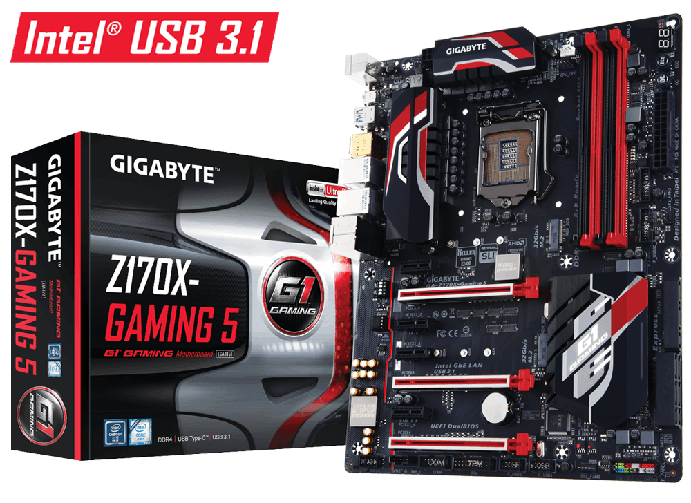 技嘉 G1 Gaming  Z170X-Gaming 5 主機板 (5年保固)