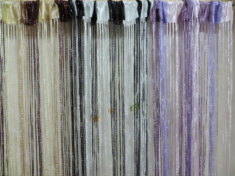 ◤彩虹森林◥《共3色》銀蔥線簾 混色線簾 雙色線簾 造型門簾 玄關簾 長簾 伸縮桿