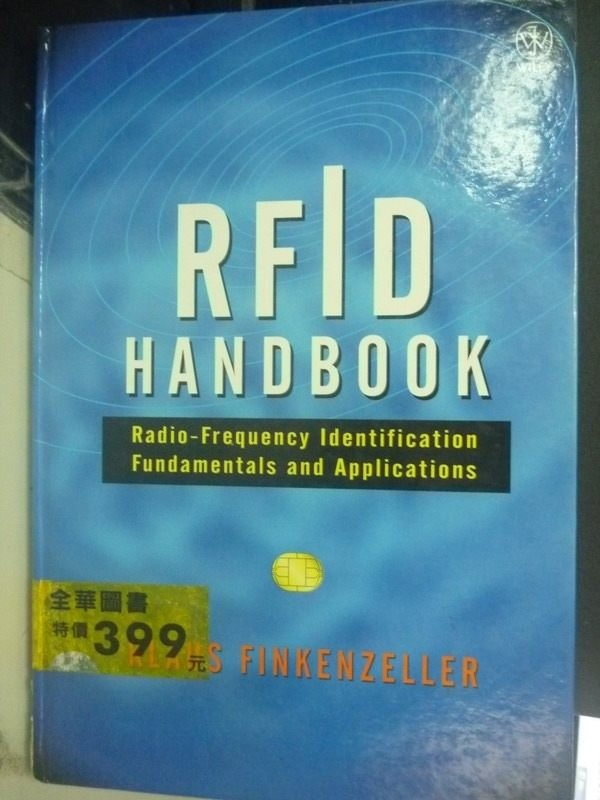 【書寶二手書T5/大學理工醫_ZHB】Rfid Handbook: Radio-Frequency