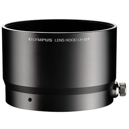 【普羅相機】OLYMPUS LH-61F 金屬鏡頭遮光罩 (黑色) (需預訂)