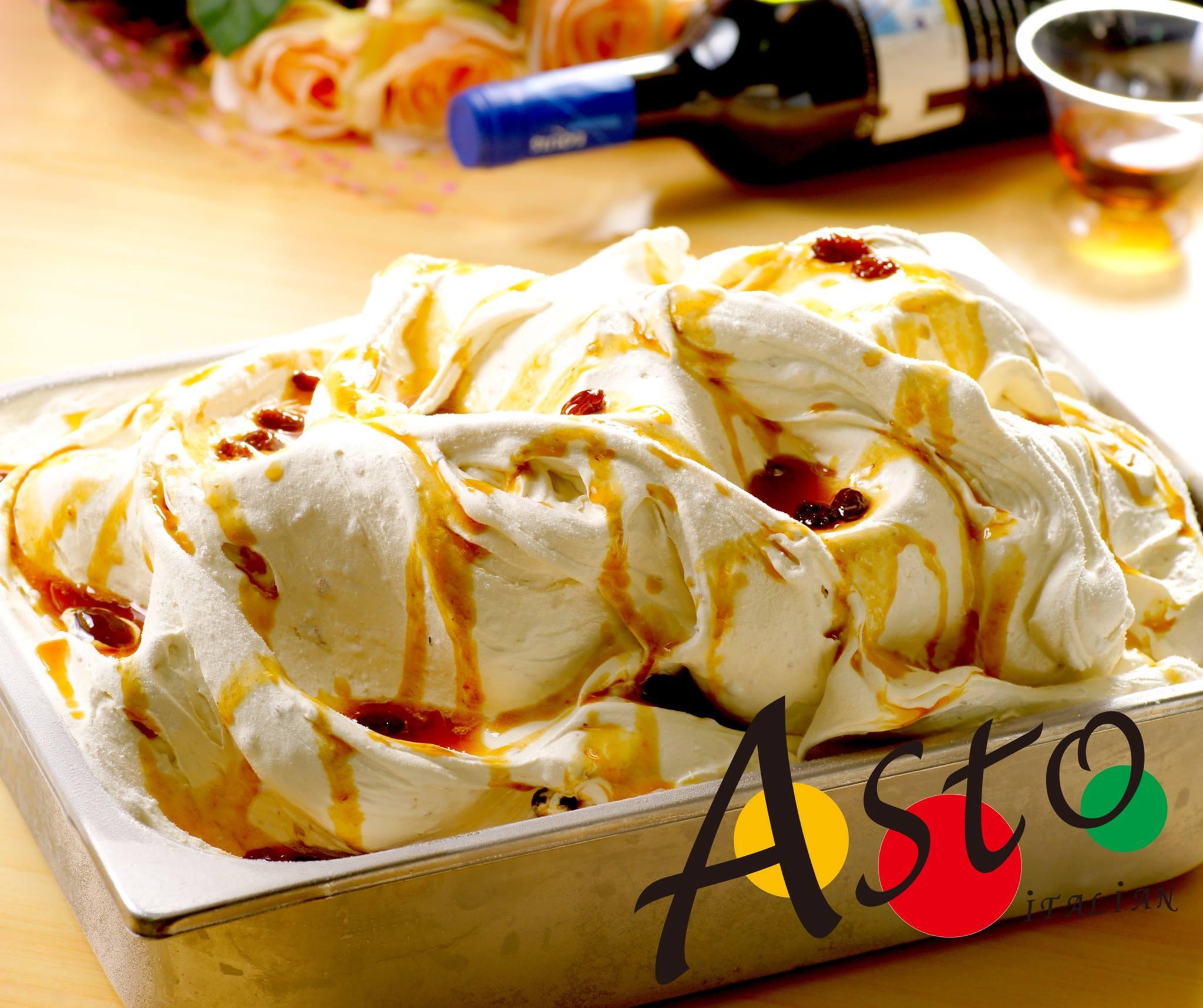 酒釀葡萄冰淇淋/半公升