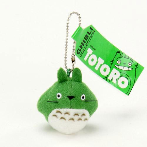 TOTORO 綠色龍貓 吊飾 鑰匙扣 日本限定正版商品