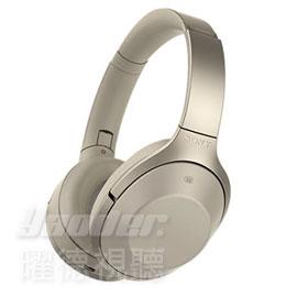 【曜德 / 預購 約12底到貨】SONY MDR-1000X 象牙白 無線降噪藍芽 耳罩式耳機 可折疊★免運★送收納盒★