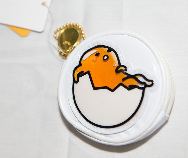 蛋黃哥 液體流動 零錢包 吊飾 日本正版商品