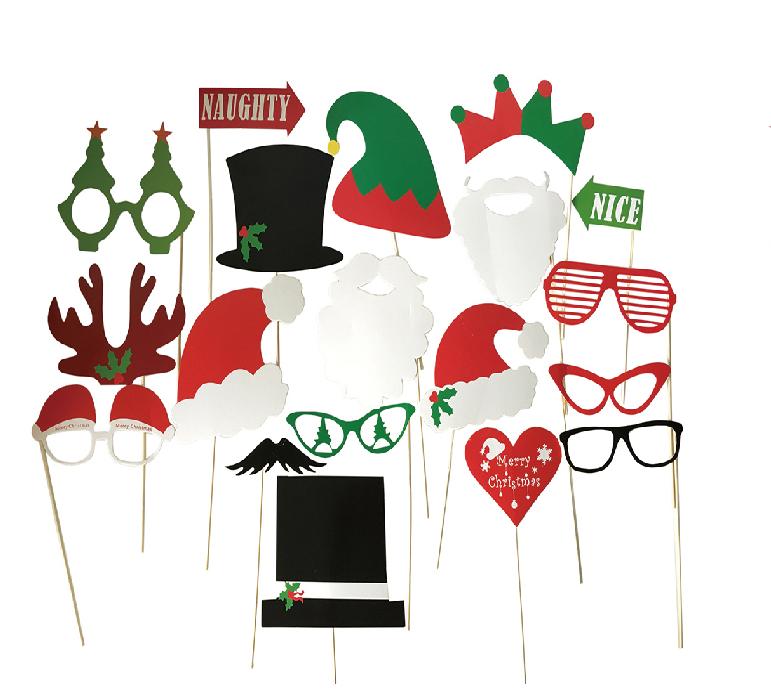 X射線【W433528】舞會拍照道具-聖誕,萬聖節/婚禮小物/佈置/裝飾/擺飾/會場佈置/攝影/寫真/婚紗/櫥窗裝飾/道具/面具