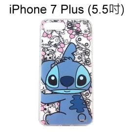 迪士尼空壓氣墊軟殼 [主題] 史迪奇 iPhone 7 Plus (5.5吋)【Disney正版授權】