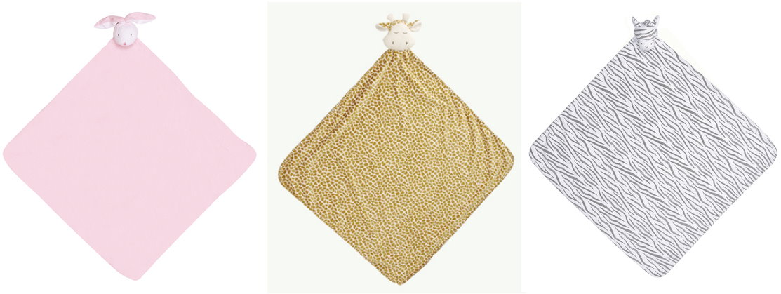 【美國 Angel Dear】動物嬰兒安撫午睡毯/睡袋/被子/毛毯 ─ 長頸鹿