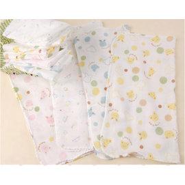 *彩色童話*高密度105g雙層紗布巾/紗布手帕/純棉手帕/洗臉巾/洗澡巾 口水巾