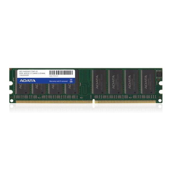 *╯新風尚潮流╭*威剛桌上型記憶體 512MB DDR-400 穩定性高 終身保固 AD1U400A512M3-R