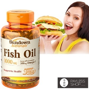 【小資屋】美國Sundown日落恩賜 高單位精純魚油(72粒)TG型 有效日期2018.0.15