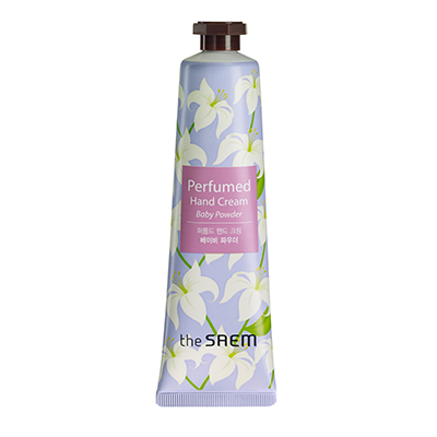 韓國the SAEM Perfumed護手霜-清新嬰兒-30ml Perfumed Hand Cream - Baby Powder 【辰湘國際】