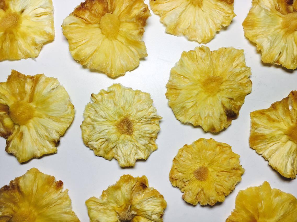 【一畝田】天然無糖土鳳梨果乾 (每包300g)