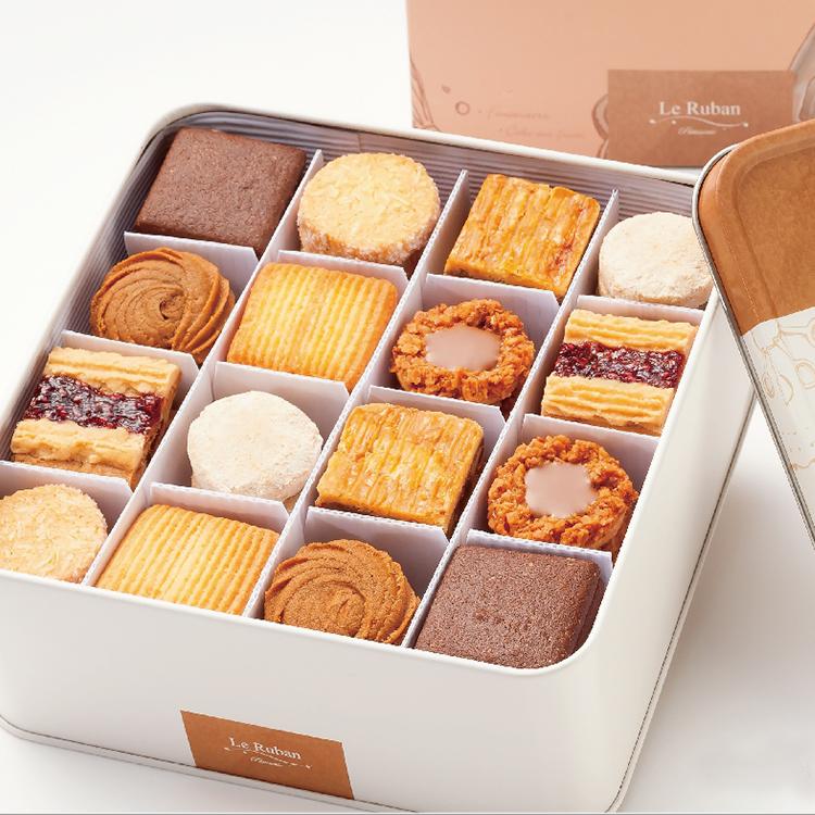 法朋綜合餅乾鐵盒 / 三週年紀念禮盒 / 八款經典餅乾