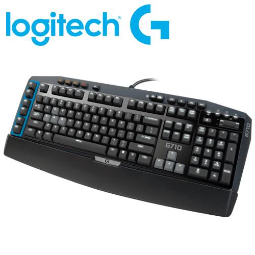 Logitech 羅技 青軸 G710+ 機械遊戲鍵盤