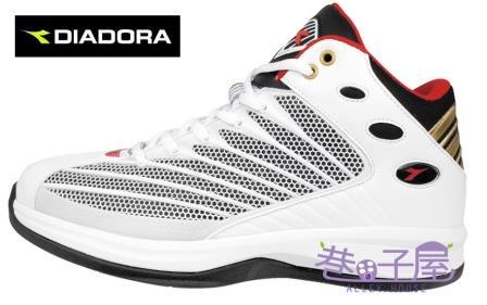 【巷子屋】義大利國寶鞋-DIADORA迪亞多納 男鞋籃球鞋 [2039] 白 超值價$1036