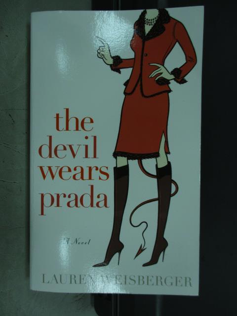 【書寶二手書T8/原文小說_MRV】The devil wears prada_Lauren weisberger