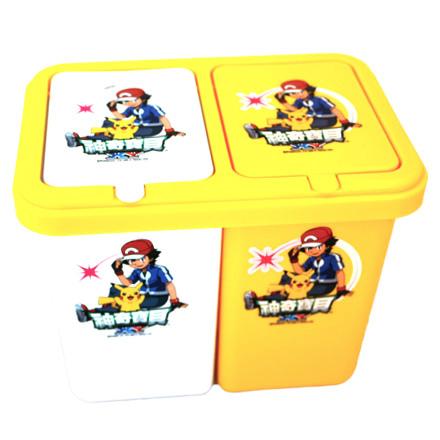 【敵富朗超巿】神奇寶貝分類垃圾桶