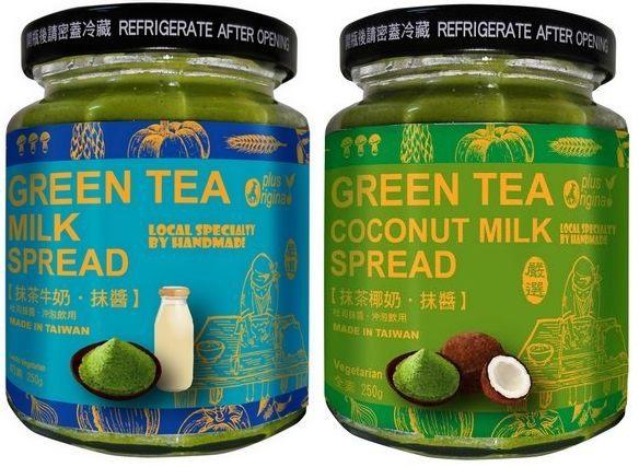 味榮 展康 抹茶牛奶抹醬/抹茶椰奶抹醬 250g