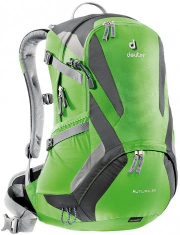 【露營趣】中和 送手電筒 deuter 34204 Futura 22L網架透氣背包 休閒背包 登山背包 自行車背包
