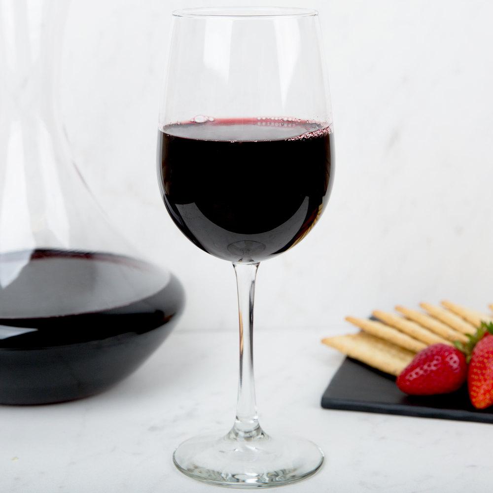 【免運費】美國利比紅酒杯~ Libbey 7508 Vina 12.75 oz. Wine Taster Glass 12入
