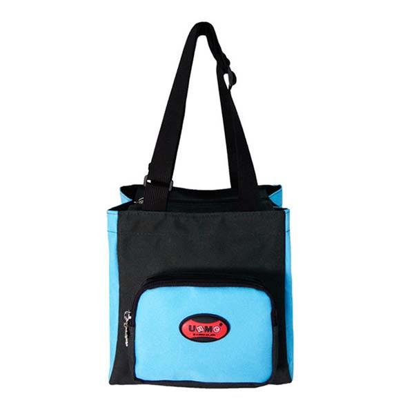 【加賀皮件】UNME 多色多用途 兒童素面 輕便可愛 餐袋/便當袋/手提袋 3112