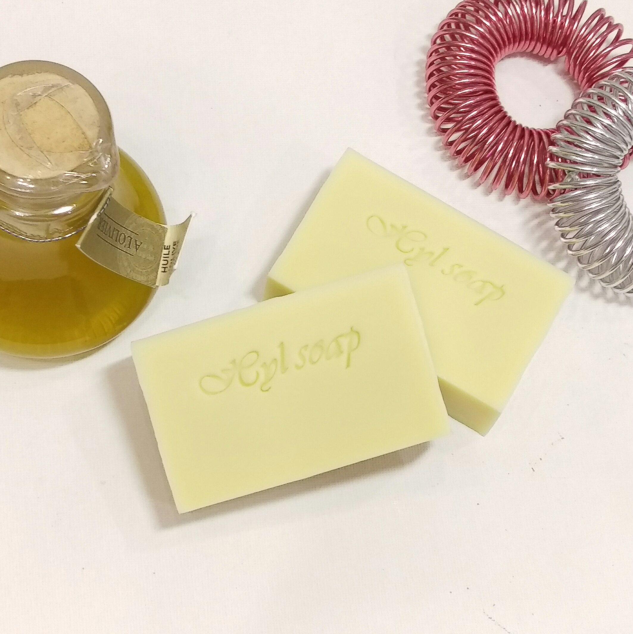 手工皂/植物油皂/甜杏仁油-【預購】,重量95g±5%