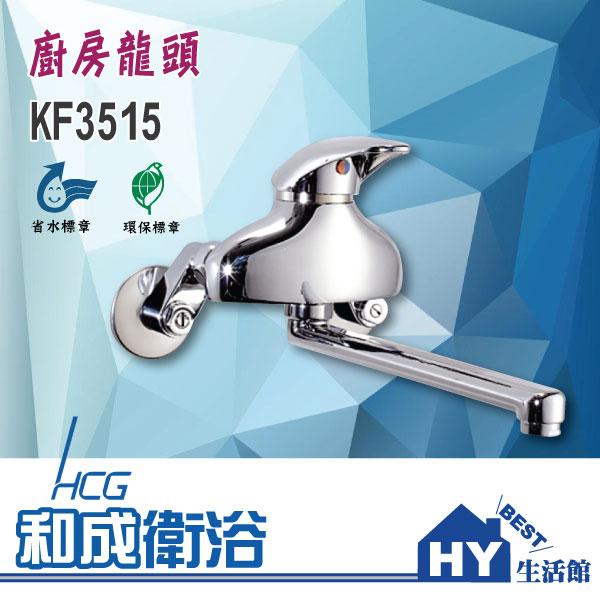 HCG 和成 KF3515 廚房龍頭 壁式長栓 -《HY生活館》水電材料專賣店