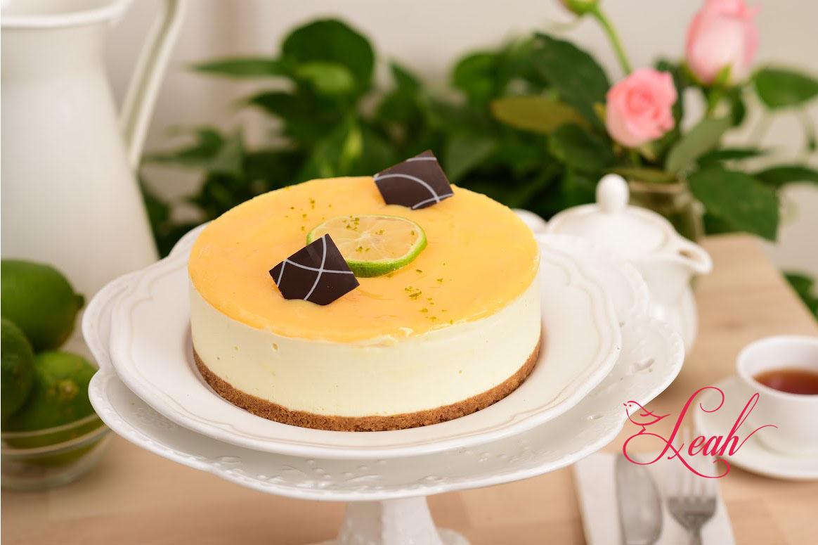 莉雅酸溜溜檸檬生乳酪蛋糕3號(使用百分之百法國進口起士)6吋