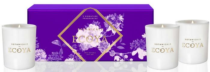 澳洲 ECOYA 精緻禮盒系列  - Ecoya Botanical 迷你水晶香氛3入禮盒