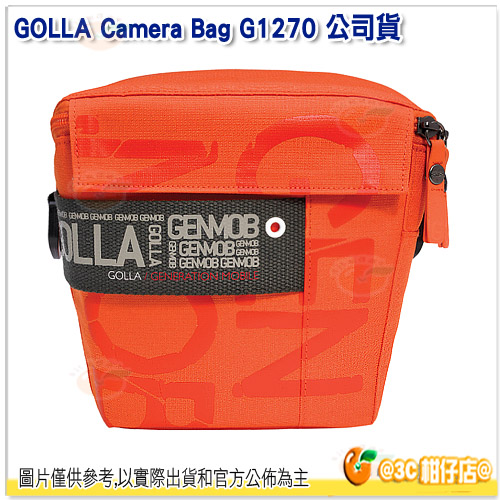 芬蘭時尚 GOLLA G1270 相機包 公司貨 攝影包 亮彩橘 時尚 700D 750D D5300 D5500