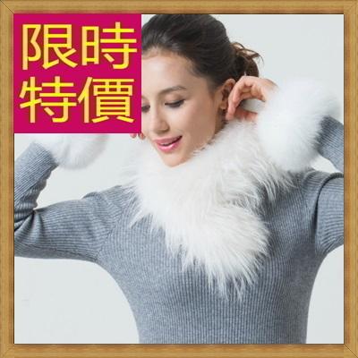 皮草毛領 貉子毛-時尚流行保暖防寒圍巾63g36【俄羅斯進口】【米蘭精品】