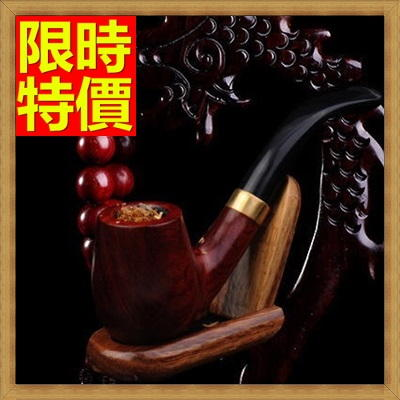 煙斗 菸具-菸斗手工彎式進口石楠木煙具64ai12【獨家進口】【米蘭精品】