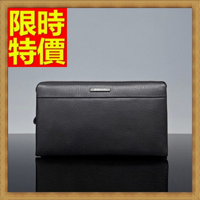 手拿包 錢包-尊貴金屬霸氣十足鴕鳥紋男皮包2色2款-小65s49【獨家進口】【米蘭精品】
