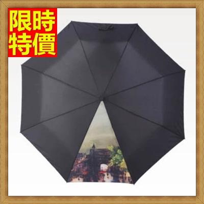 雨傘 手動摺疊傘 遮陽傘-創意油畫三折超輕晴雨傘男女 雨具6款66aj12【獨家進口】【米蘭精品】