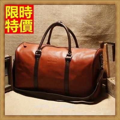 旅行袋 手提包-經典商務手提包圓筒大容量男肩背包行李袋66b33【獨家進口】【米蘭精品】