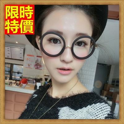 眼鏡框 眼鏡架-文藝復古圓框流行男女配件3色67ac19【獨家進口】【米蘭精品】