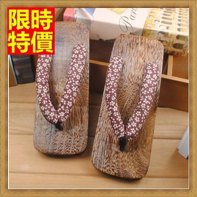 木屐 夾腳拖鞋-紳士和服燒桐男木鞋68i14【日本進口】【米蘭精品】