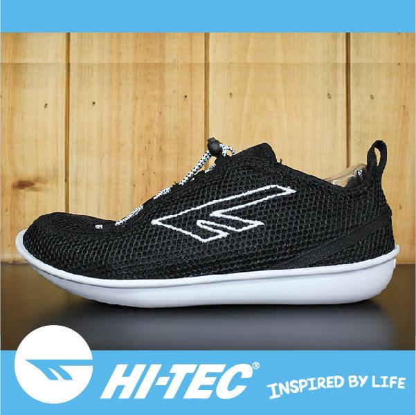 萬特戶外運動 HI-TEC ZUUK 男絲瓜鞋 極輕樂步 旅行必備便鞋 免綁鞋帶 男款黑色