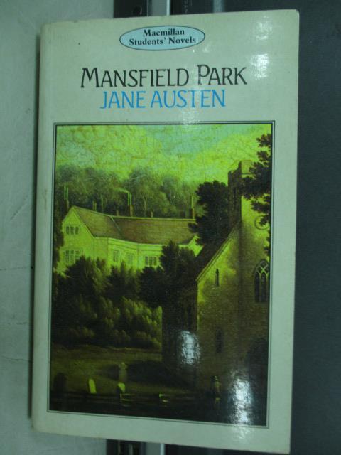 【書寶二手書T6/原文小說_JAQ】Mansfield park_Jane austen